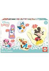 Baby Puzzle Mickey & Friends Educa 18590