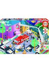 Puzzle junior 200 Servicios Asistencia Educa 18609