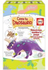 Crea e Modella il Tuo Triceratopo Educa 18363