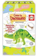 Créez et Modelez Votre Brontosaure Educa 18364
