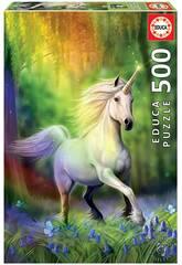 Puzzle 500 Inseguendo l'arcobaleno Educa 18448