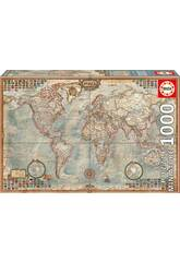 Puzzle 1000 Il Mondo, Mappa Politica