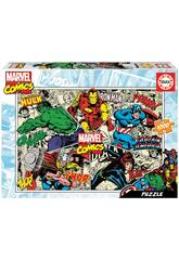 Puzzle 1000 Marvel Comics Educa 18498
