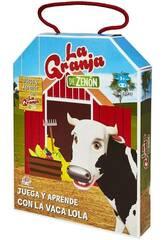A Fazenda de Zenón Joga e Aprende Com A Vaca Lola Bandai EB81202