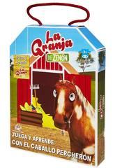 Die Farm Von Zenón Spiele Und Lerne Mit Caballo Percherón von Bandai EB81204