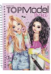 TopModel Cuaderno para Colorear 3D 7857