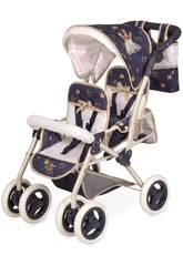 Chariot de Poupée Poussette Gémelaire Classic Romantic Pliant DeCuevas 90332