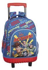 Mochila Grande com Rodas Compact Toy Story 4 Safta 611931818