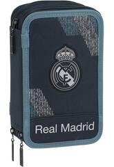 Plumier Triplo 41 peças Real Madrid Dark Safta 411834057