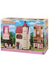 Sylvanian Families La Maison de La Tour avec Figurine Epoch Para Imaginar 5400