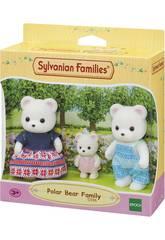 Sylvanian Families Famille Ours Polaire Epoch Para Imaginar 5396