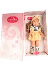 Bella Puppe Gelbes Set 45 cm. Antonio Juan 2819