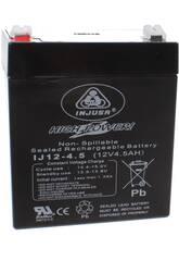 Batería Recargable 12V. 4.5 AH. Injusa 999