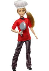 Barbie Je Veux être Chef Mattel FXN99