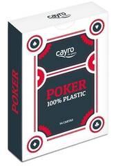 Baralho Cartas Poker 100% Plástico Cayro 5505