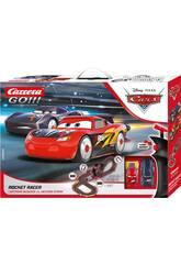 Circuito Cars Rocket Racer Rayo y Storm 5.3 m. con Luces Carrera 62518