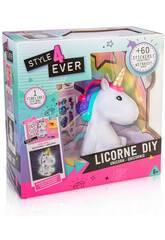 Tirelire Licorne DIY Style 4 Ever avec des Autocollants Canal Toys OFG106