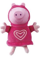 Peppa Pig Peluche con Luce Pigiama Rosa Bandai 6916