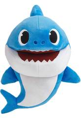 Baby Shark Marioneta Cantarina Daddy Shark Bandai SS01005