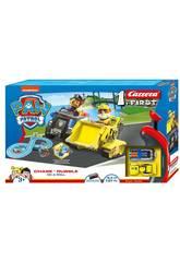Paw Patrol Circuito Carrera First Chase y Rubble Carrera 63034