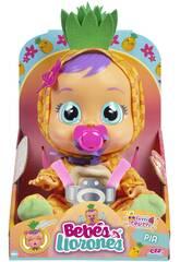 Bebés Llorones Tutti Frutti Pia Ananas IMC Toys 93829