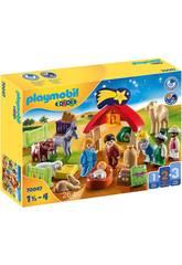 Playmobil 1,2,3 Mon Premier Bethléem 70047