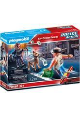 Playmobil Pattuglia Polizia Stradale 70461