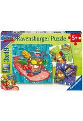 SuperZings Puzzle 3 in 1 Ravensburger 5084