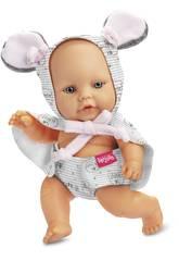 Mosqui Dolls Boneco Rato 20 cm. Berjuan 50302