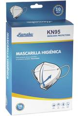 Boite 10 Unités Masque Hygiénique KN95