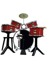 Batterie Golden Red Drums Reig 717