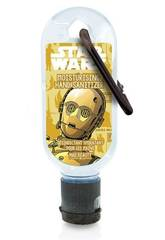 Gel Hydro Alcoolique 30 ml. Clip Disney Star Wars C3PO