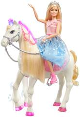 Barbie Princess Adventure e Seu Cavalo Mattel GML79