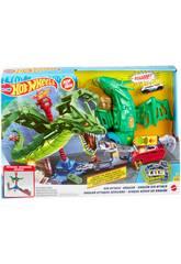 Hot Wheels City Ataque Aéreo do Dragão Mattel GJL13