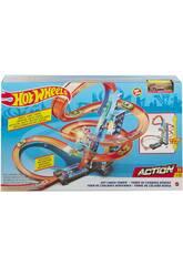 Hot Wheels Torre de Choques no Ar Mattel GJM76