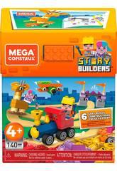 Mega Construx Story Builders Schachtel 140 Teile Mattel GRG53