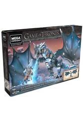 Game of Thrones Mega Construx Got Jon Snow Versus Viserion Mattel GMN74