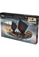 Juego de Tronos Mega Construx Got Barco Targaryen Mattel GPB29