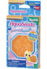 Aquabeads Pack Perles Bijou Orange Epoch Para Imaginar 32678