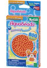 Aquabeads Pack Perline Solide Arancione Epoch Para Imaginar 32518