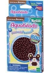 Aquabeads Pack Perles Solides Marron Epoch Para Imaginar 32598