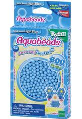 Aquabeads Pack Perles Solides Bleu Clair Epoch Para Imaginar 32558