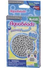 Aquabeads Pack Abalorios Sólidos Gris Epoch Para Imaginar 32648