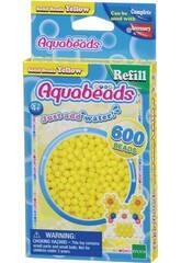 Aquabeads Pack Contas Sólidos Amarelo Apoch Para Imaginar 32528