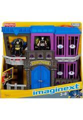 Imaginext Prigione Gotham City con Figure Mattel W9642