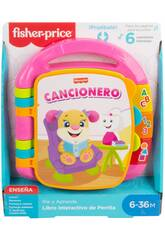 Fisher Price Pink Interactive Lernbuch Mattel DLF23