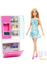 Barbie Kühlschrank Möbel Mattel GHL84