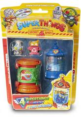 Superthings Secret Spies Figurines avec Cachette et Spy Detector Magic Box PST6B416IN00