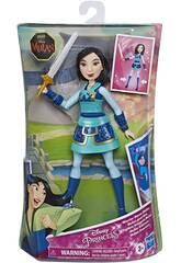 Princesas Disney Muñeca Mulan Guerrera Hasbro E8628