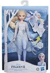 Frozen II Elsa Descobrimento Mágico Hasbro E8569